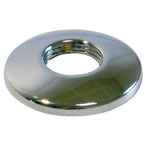 Rosace bombée à visser - Diamètre 3/4 - diam. Ext. 60 - hauteur 11 mm - la paire