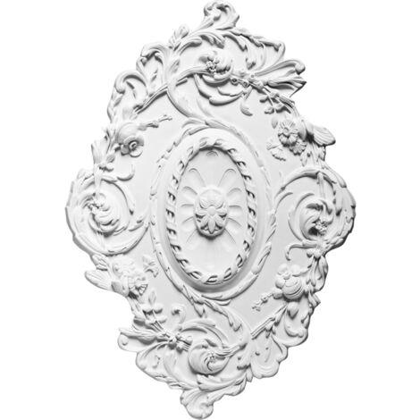 Rosace décoration de plafond Orac Decor Luxxus R22 (77x52.5 cm) - tubedecolle : Sans tube de colle