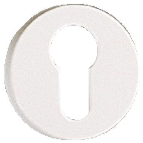 Rosace en polyamide blanche - ARCOLOR 7700 - Pour béquille 710 et 232 condamnation avec voyant