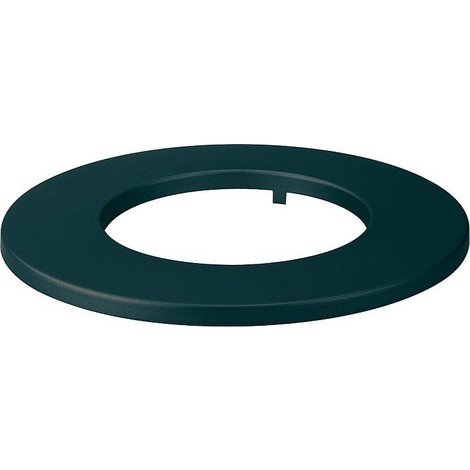 Rosace laque, noir pour DN150, largeur bord 60 mm