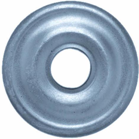 Rosace métallique plate O25mm - Boite 100