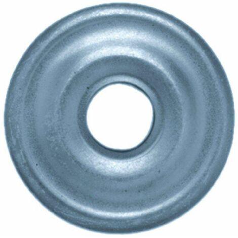 Rosace plate de 26mm, boite de 20 pièces