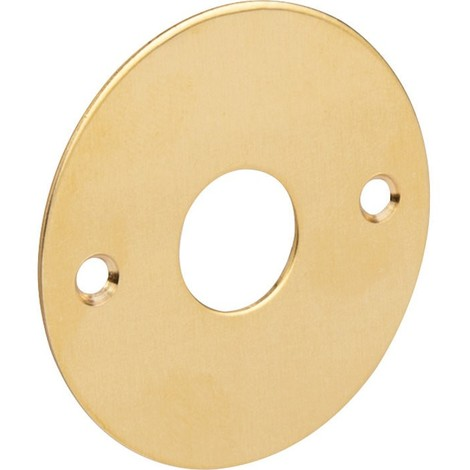 Rosace ronde plate poli (l'unité) Duval