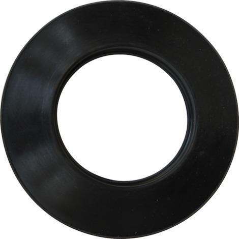 Rosace silicone noir - Ø 80 mm