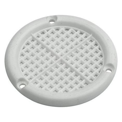 Rosace ventilation 60 mm blanc