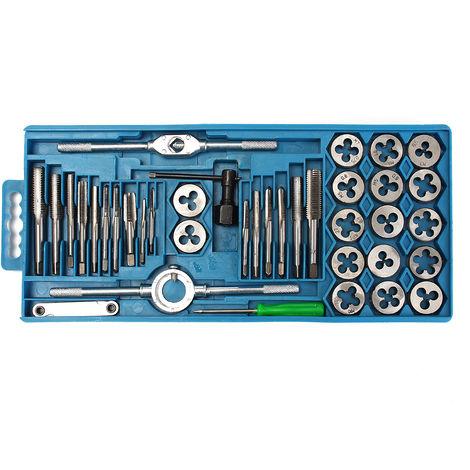 Rosca Juego de llaves 40 piezas Llave de rosca métrica Tuerca Tuerca Sasicare