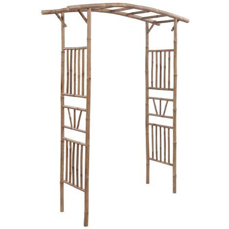 Rose Arch Bamboo 145x40x187 cm