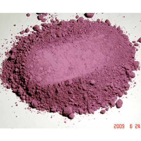 ROSE OUTREMER - 250G - PIGMENT NATUREL POUR PEINTURE ROSE OUTREMER À PARTIR DE 250G - rose outremer