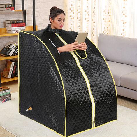 Rose Sauna portable à vapeur SPA intererieur pliable