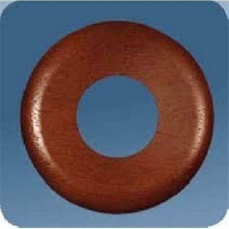 ROSETTA noyer rond diamètre 80MM 2 pièces 01113/B2