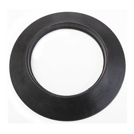 Rosette en silicone noir dn 130 mm d. extérieur de 210 mm. granulés de fumée