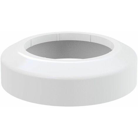 Rosette für WC- Anschluss Ablaufgarnitur Anschluss DN 110 Ausführung klein