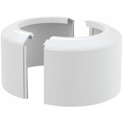 Rosette für WC- Anschluss zweiteilig Ablaufgarnitur Anschluss DN 110 Ausführung groß