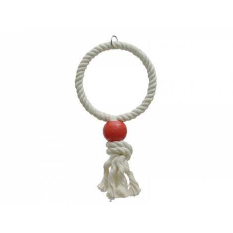 Rosewood Parrot Rope Toy
