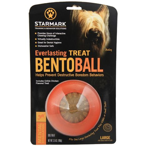 Rosewood Starmark Everlasting Bento Ball (Assorted Colours) - ASRTD (Small) (Assorted)