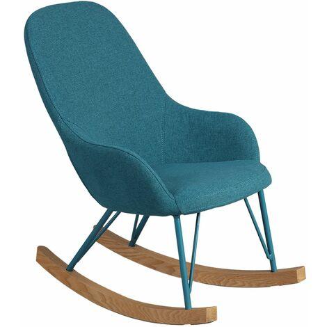 Rosita - Rocking-Chair Enfant Turquoise - Bleu