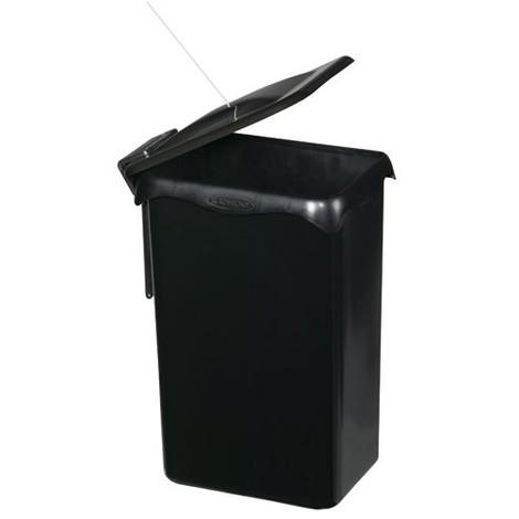 ROSSIGNOL - Poubelle de placard Portasac - 23 L - noir