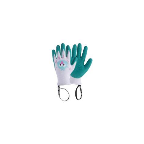 ROSTAING MARGOT Guantes Infantiles para Niñas Aprendices Jardinería, Talla 6-8 años