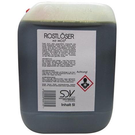 ROSTLÖSER 5 Liter mit MoS² WD Kriechöl Rostentferner 40 Rost Löser 5l