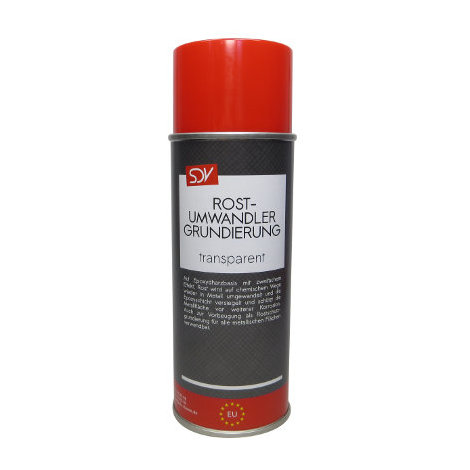 ROSTUMWANDLER Spray 400ml Epoxy Rostsanierer Grundierer + Umwandler in EINEM