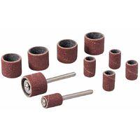 "Rotary Tool Drum Sanding Kit 12pce - 6.35mm (1/4"") & 12.70mm (1/2"")"