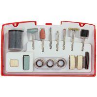 Rotary Tool Sanding & Grinding Accessory Kit 52pc Fit Dremel Type Machine