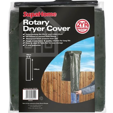 Rotary Washing Line Cover Parasol Cover Airer Drier Waterproof
