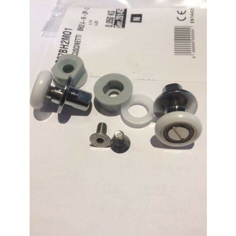 rotelle ricambio per box doccia novellini zephyros R07BH2MO1 | ruedas