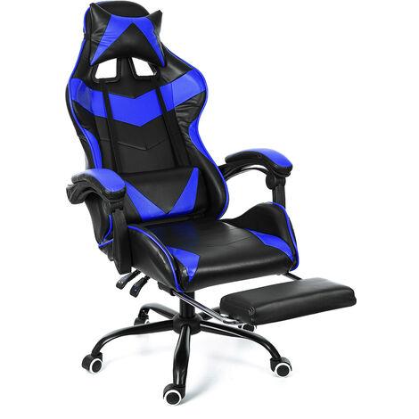 Roter Bürostuhl Stuhl Gaming Gaming Stuhl Drehrennsport 150 ° Kipp Hasaki
