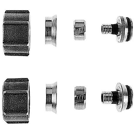 Rotex Klemmring-Set am Heizkreisverteiler RMX / RMV