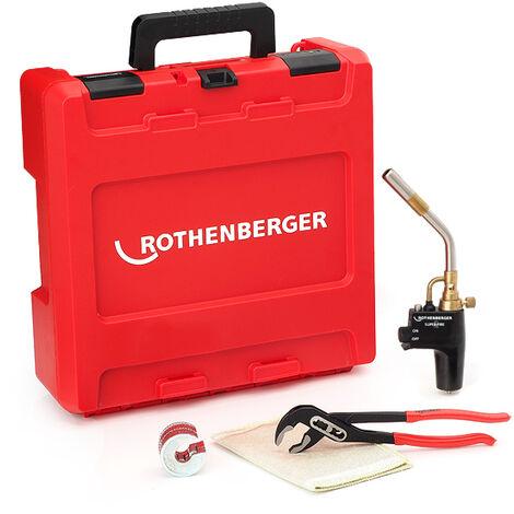 Rothenberger 18070 Hot Box Starter - Plumbers Starter Kit - 18070