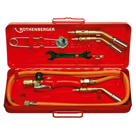 Rothenberger Airpop Propane Industrial Blow Torch Set - Type