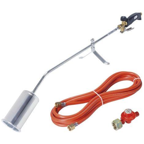Rothenberger Désherbeur Romaxi + tuyau de gaz + détendeur