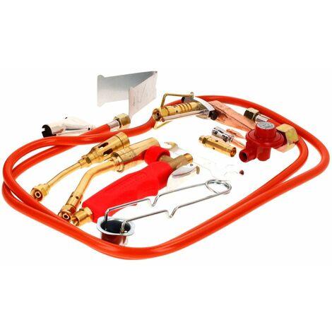 Rothenberger Industrial 2000 °C Brûleur de chauffe , Soudure + accessoires + 1x coffret (30900)