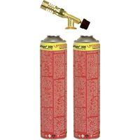Rothenberger Industrial Gasbrenner Hot Pack 2 650°C 2.5h inkl. Gasflasche Y127581