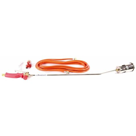 Rothenberger Industrial ROMAXI Premium Brûleur à gaz + 1x Tuyau + 1x Régulateur 1060 °C ( 030957E ) Brûleur à gaz de haute performance