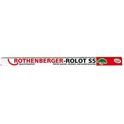 Rothenberger ROLOT S5 - soldadura fuerte - DIN 1044 - 2x2x500mm