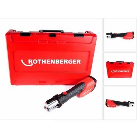 Rothenberger ROMAX 4000 Machine à sertir électro-hydraulique sans fil 18 V Li-Ion + Coffret de transport - sans Batterie, sans Chargeur