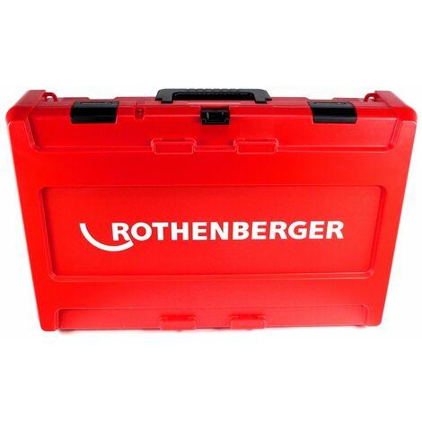 Rothenberger ROMAX 4000 Sertisseuse sans fil 18 V Li-Ion électro-hydraulique + Coffret de transport + 1x Batterie 8 Ah, sans Chargeur