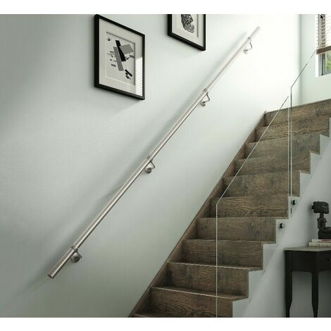Rothley Stainless Steel Polished Finish Handrail Kit 3.6M x 40mm