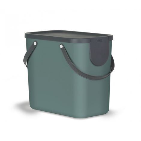 Rotho Mülltrennungssystem Albula 25 L Recyclingbehälter, 40 x 23,5 x 34 cm