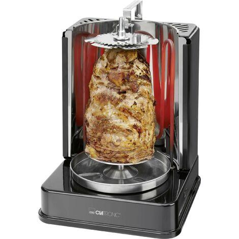 Rôtissoire à poulet et kebab Clatronic DVG 3686 263831 électrique noir 1 pc(s) X181301