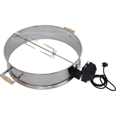 Rôtissoire pour barbecue Ø 57cm x H 15cm Broche Support pour barbecue boule
