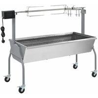 Rôtissoire pour barbecue électrique Acier inoxydable