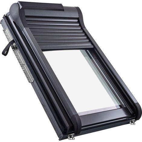 Roto Außenrollladen Designo ZRO SF R6/R8 Solar Funk