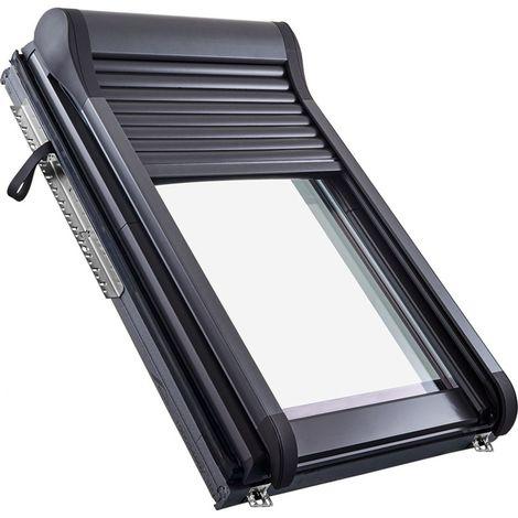 Roto Außenrollladen ZRO SF 6x/84 Solar Funk