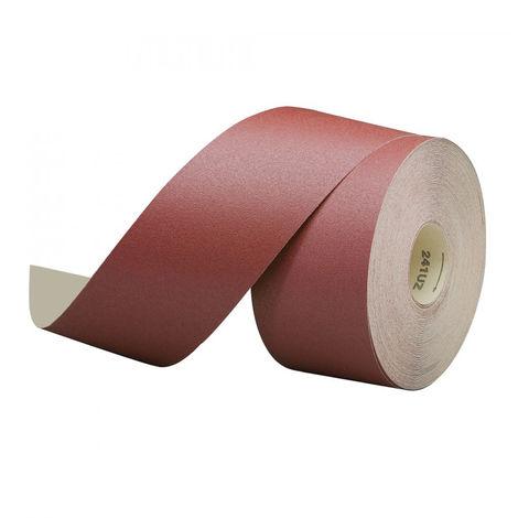 Rotolo 50mt carta abrasiva vetrata grana 100gr bricolage e fai da te E28215100