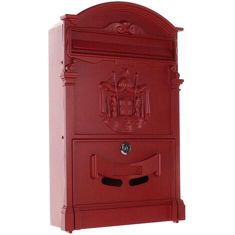 Rottner Boite Aux Lettres Ashford Rouge