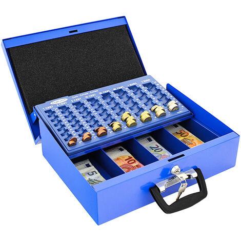 Rottner Caisse à monnaie Bruessel bleue