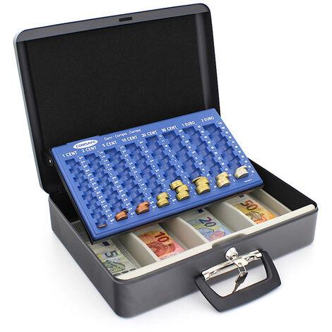 Rottner Caisse à monnaie noire London
